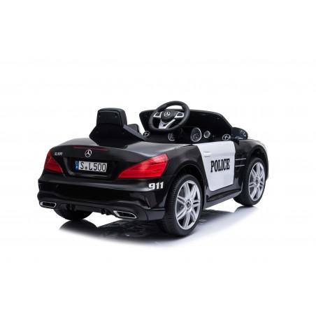 Voiture de Police Electrique Mercedes Benz SL500 (2x40w) Marche av/ar, Phares, Musique, Klaxon et Télécommande parentale