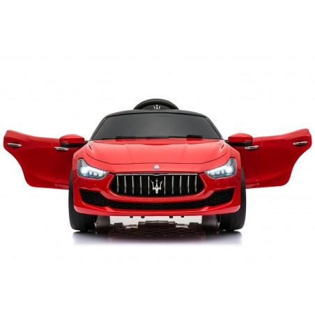 Maserati Ghibli Voiture Electrique Enfant (2 x 25W) 110x64x48cm - Marche av/ar, Phares, Musique et Télécommande parentale