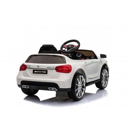 Mercedes Benz GLA AMG Voiture Electrique Enfant (2 x 25W) 100x58x46 cm - Marche av/ar, Phares, Musique et Télécommande parentale