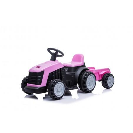 Tracteur électrique avec remorque 22W pour Enfant 3km/h