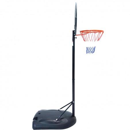 """Panier de Basket sur Pied Mobile """"Miami"""" Hauteur Réglable de 1.6m à2.10m"""