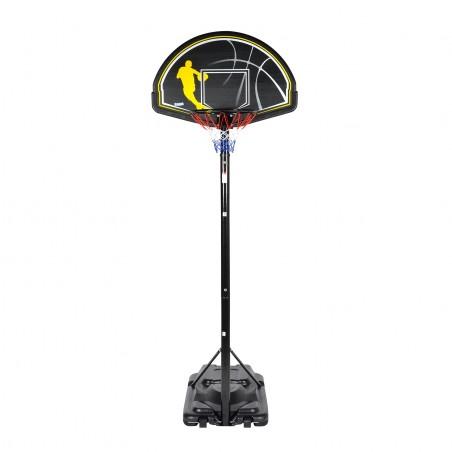 """Panier de Basket sur Pied Mobile avec Ajustement Télescopique """"Washington"""" Hauteur Réglable 2.45m à 3.05m"""