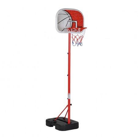 """Panier de Basket sur Pied Mobile pour Enfant """"Atlanta"""" Hauteur Réglable jusqu'à 1m35"""