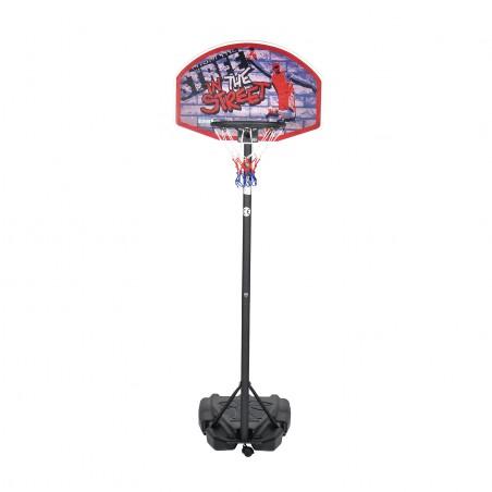"""Panier de Basket sur Pied Mobile """"Detroit"""" Hauteur Réglable de 1.40m à 1.90m"""