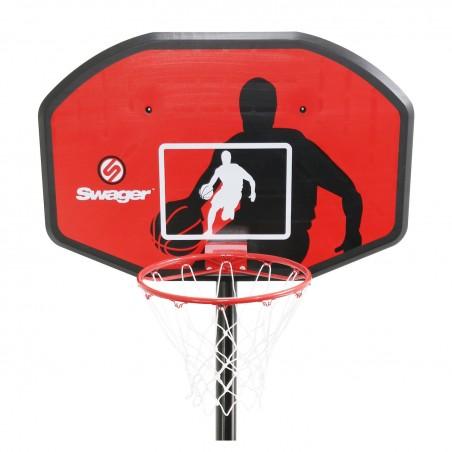 """Panier de Basketball sur Pied Mobile """"The Classic"""" Hauteur Réglable de 2.30m à 3.05m"""