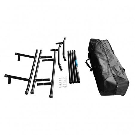Station de traction portable multifonctions - Musculation et Entraînement - Ajustable et Evolutive - Sac de Transport Inclus
