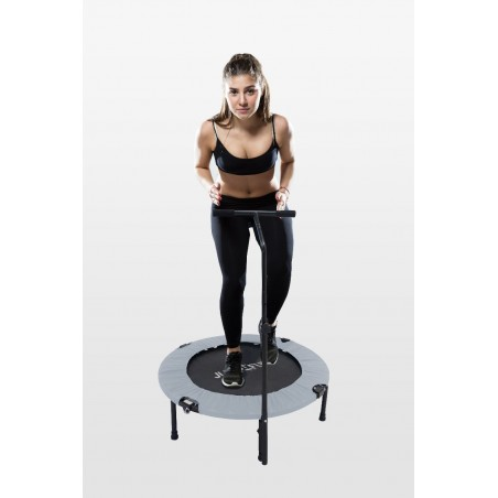 Mini Trampoline Fitness Jump4fun Pliable T-Bar - Ø92cm