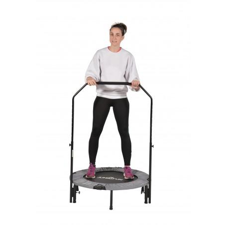 Mini Trampoline Fitness Jump4fun Pliable Double-Bar - Ø92cm