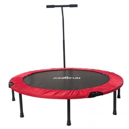 Mini Trampoline Fitness Jump4fun Pliable T-Bar - Ø122cm