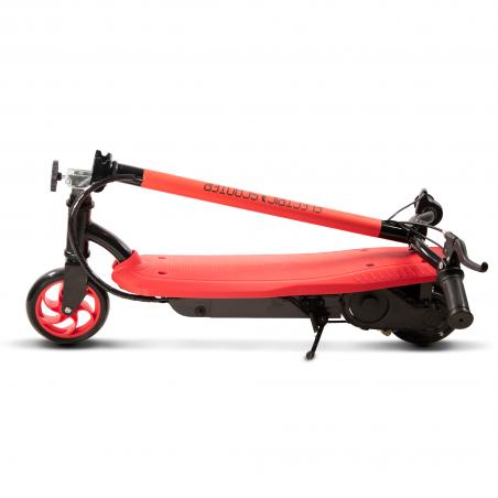 Trottinette électrique Enfant Piki T2EN, Pliable et légère - 120 W - Rouge